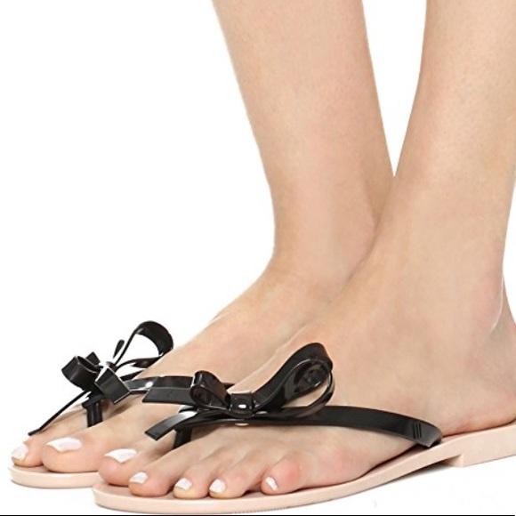 53c5449a8dacf3 Melissa Harmonic Bow Jelly Flip Flop Sandals